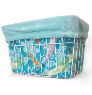 Blue Surfboard Basket Liner