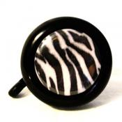 White Zebra Trend Bike Bell