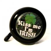 Kiss Me I'm Irish Bicycle Bell