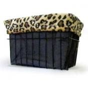 Leopard Basket Liner