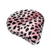 Pink Dalmation Bike Seat Cover