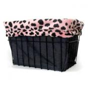 Pink Dalmation Basket Liner