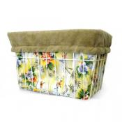 Yellow Hawaiian Basket Liner