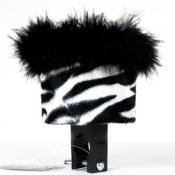 White Zebra Cute Cup Drink Holder